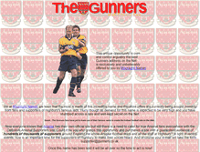 Tablet Preview of gunners.co.uk